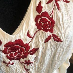 NWOT moda international blouse